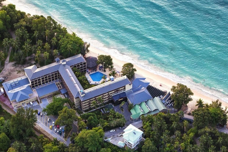 Vue panoramique - Coral Strand 4* Mahe Seychelles