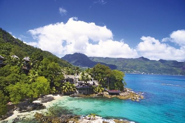 Vue panoramique - Hôtel Hilton Seychelles Northolme Resort & Spa 5* Mahe Seychelles