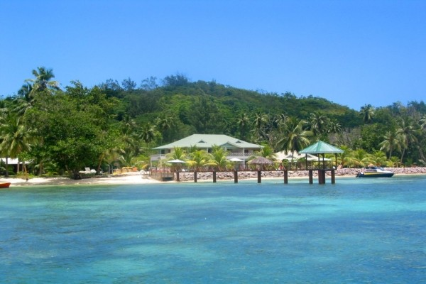 Vue panoramique - Hôtel L'Habitation Cerf Island 3* Mahe Seychelles