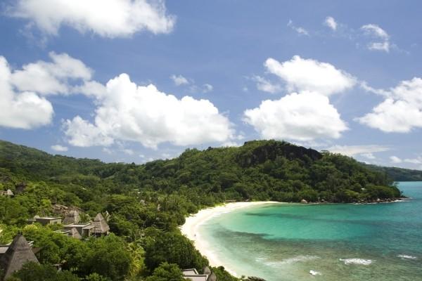 Vue panoramique - Hôtel Maia Luxury Resort & Spa 5* Mahe Seychelles