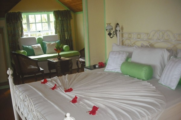 Chambre - Hôtel Palm Beach 2* Praslin Seychelles