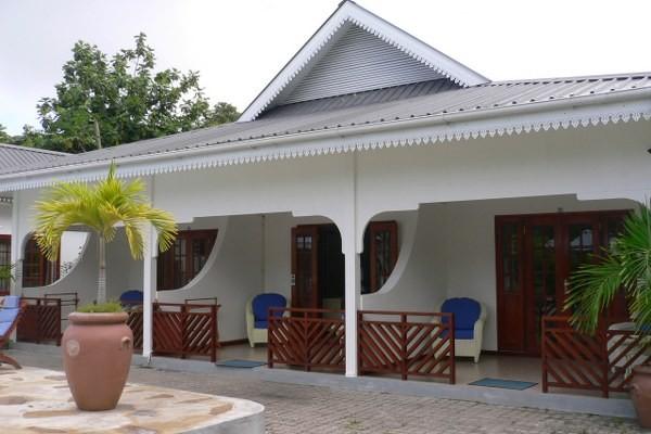 Facade - Hôtel Villa de Mer 3* Praslin Seychelles