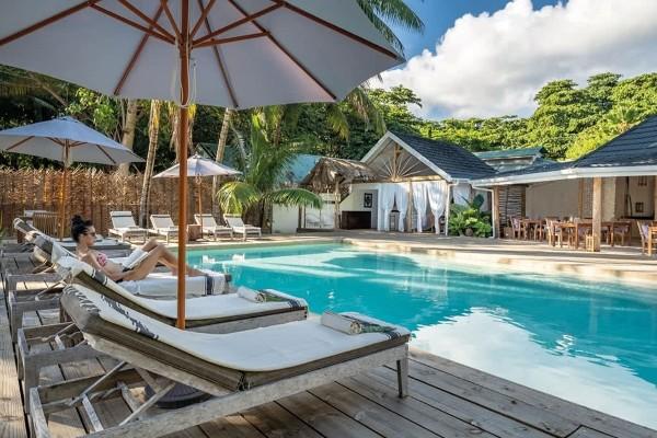Piscine - Hôtel Bliss Hotel Praslin 4* Praslin Seychelles