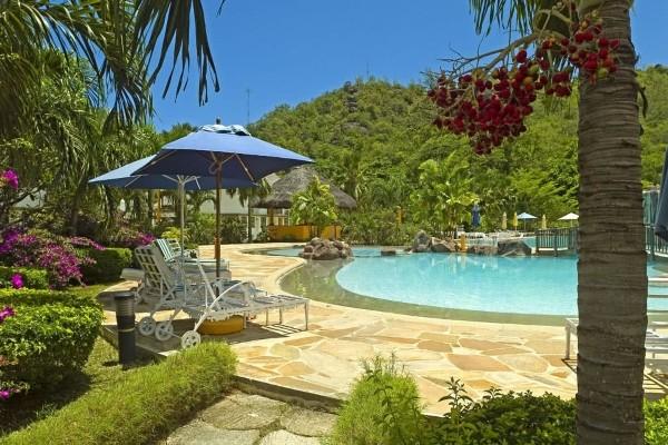 Piscine - Hôtel Domaine de la Réserve 4* Praslin Seychelles