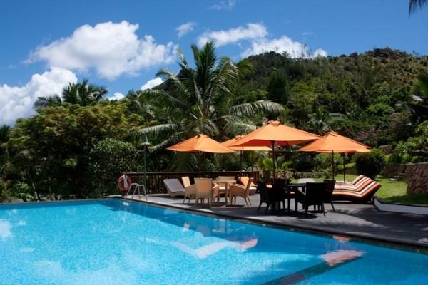 Piscine - Hôtel L'Archipel 4* Praslin Seychelles