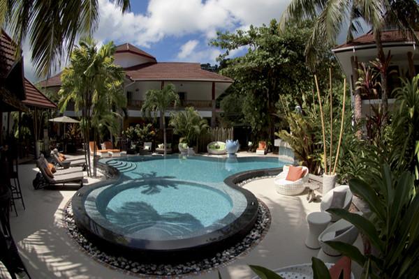 Piscine - Hôtel Le Duc de Praslin 4* Praslin Seychelles