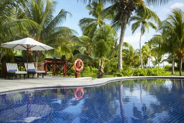 Piscine - Hôtel Paradise Sun 4* Praslin Seychelles