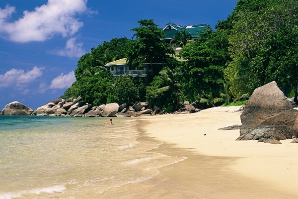 Plage - Hôtel Coco De Mer 4* Praslin Seychelles