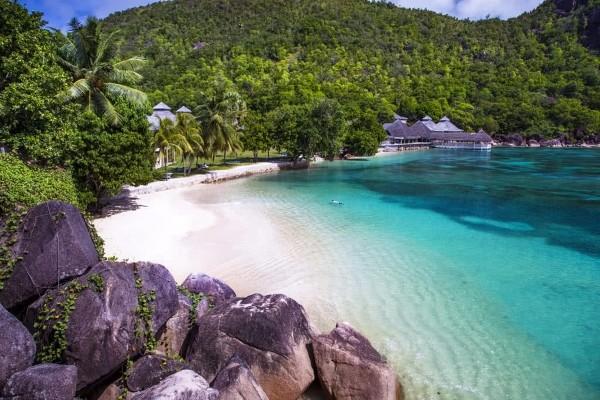 Plage - Hôtel Domaine de la Réserve 4* Praslin Seychelles