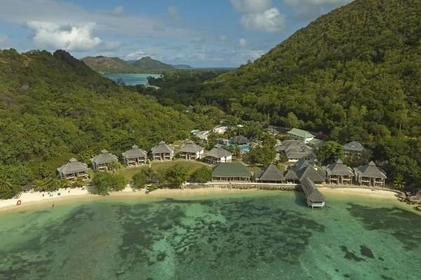 Vue panoramique - Hôtel Domaine de la Réserve 4* Praslin Seychelles