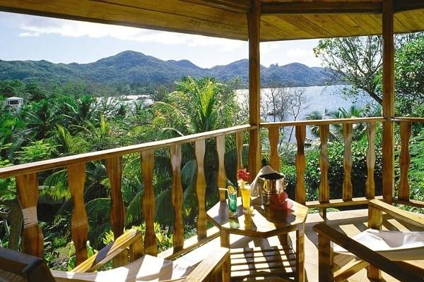 Vue panoramique - Hôtel L'Archipel 4* Praslin Seychelles