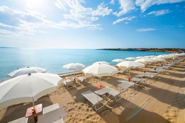 Plage - Hôtel VOI Arenella Resort 4* Catane Sicile et Italie du Sud