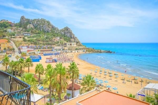 Vue panoramique - Club Coralia Baia d'Oro 4* Catane Sicile et Italie du Sud