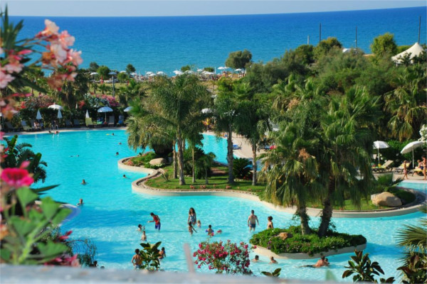 Piscine - Hôtel Acacia Resort 4* Palerme Sicile et Italie du Sud