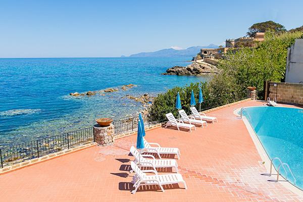 Terrasse - Tonnara Trabia 4* Palerme Sicile et Italie du Sud