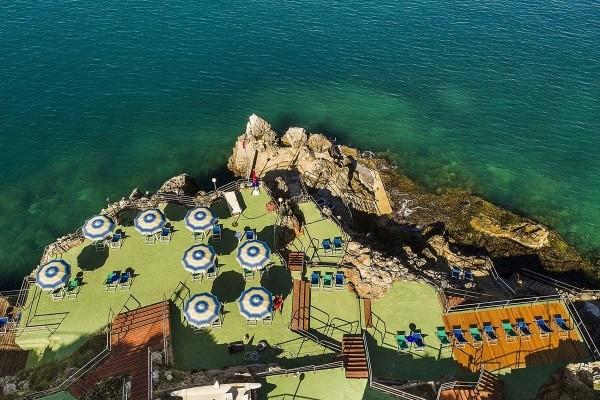 Vue panoramique - Hôtel Città Del Mare 4* Palerme Sicile et Italie du Sud