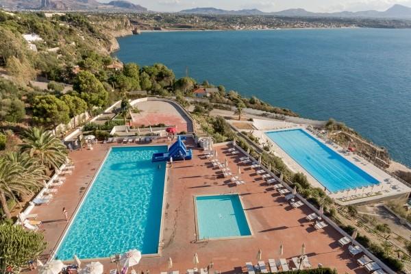 Vue panoramique - Hôtel Club Perla Del Golfo 3*