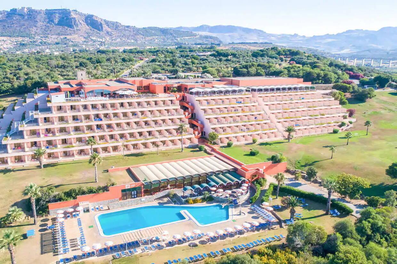 Vue panoramique - Club Lookéa Torre del Barone 4* Palerme Sicile et Italie du Sud