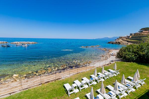 Vue panoramique - Hôtel Tonnara Trabia 4* Palerme Sicile et Italie du Sud