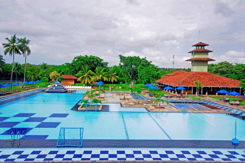 Piscine - Hôtel Club Palm Bay 4* Colombo Sri Lanka