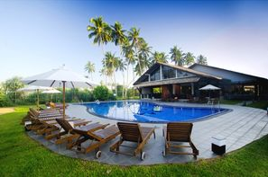 Sri Lanka-Colombo, Hôtel Kamili Beach Villa