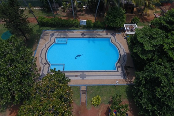 Piscine - Hôtel Laya Beach 3* Colombo Sri Lanka