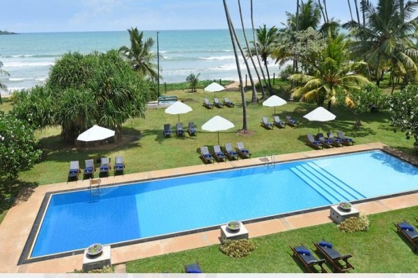 Piscine - Hôtel Mandara Resort 4* Colombo Sri Lanka
