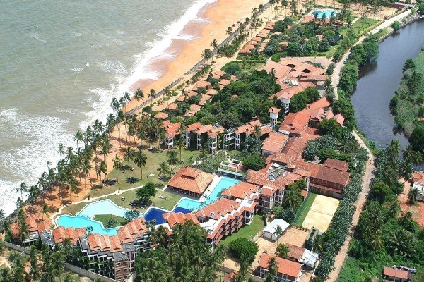 Vue panoramique - Club Dolphin 4* Colombo Sri Lanka