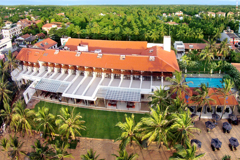 Vue panoramique - Goldi Sands Hotel 4* Colombo Sri Lanka