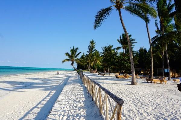 Plage - Hôtel Paje Palms Beach 4* sup Zanzibar Tanzanie