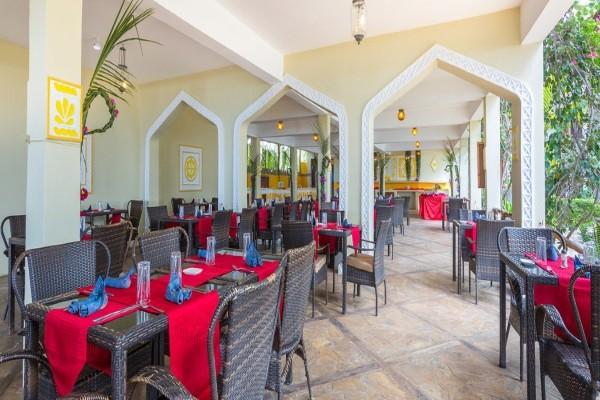 Restaurant - Club Kappa Club Waridi Beach Resort & Spa 4* Zanzibar Tanzanie