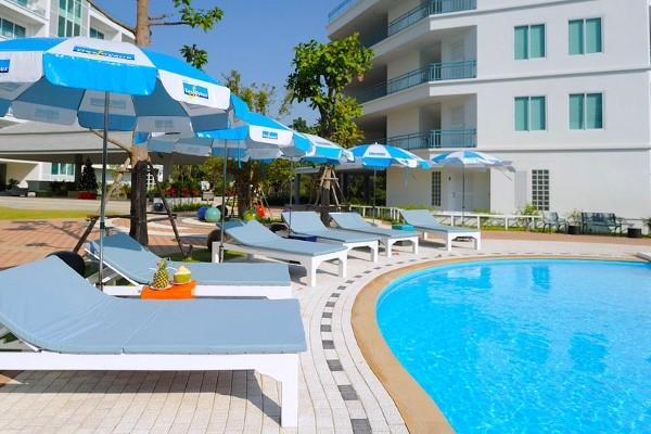 Piscine - Hôtel Cera Resort Cha Am 4* Bangkok Thailande