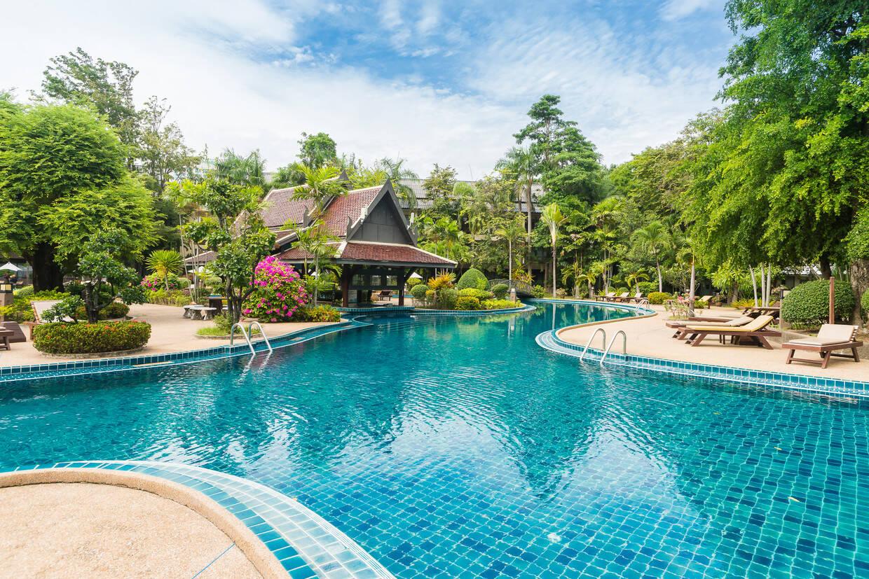 Piscine - Green Park Pattaya 3* Pattaya THAILANDE