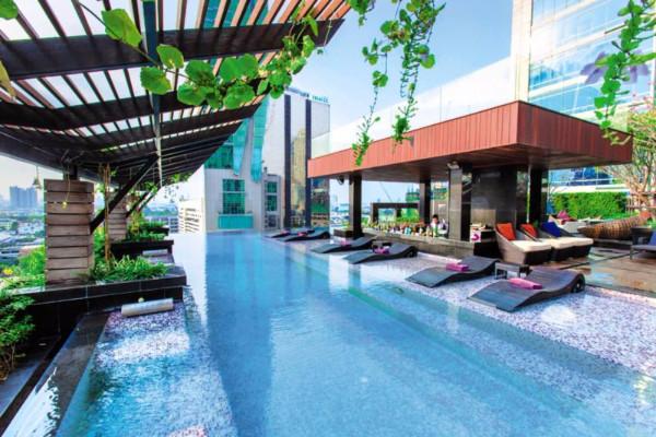 H tel mode sathorn hotel bangkok thailande partir pas cher for Hotel pas cher bangkok avec piscine