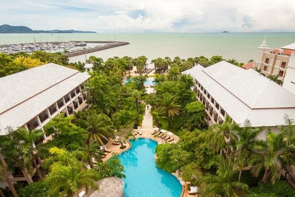H tel ravindra jomtien thailande partir pas cher for Hotel pas cher bangkok avec piscine