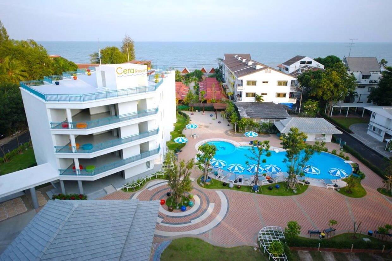 Vue panoramique - Hôtel Cera Resort Cha Am 4* Bangkok Thailande