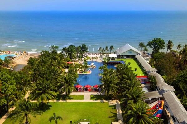 Vue panoramique - Novotel Hua Hin Cha Am Beach Resort & Spa 4* Hua Hin Thailande