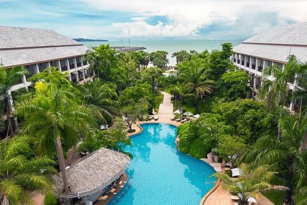 Vue panoramique - Ravindra Beach Resort & Spa 5* Bangkok Thailande