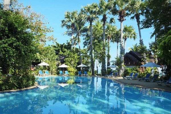 Piscine. - Paradise Beach Resort Samui