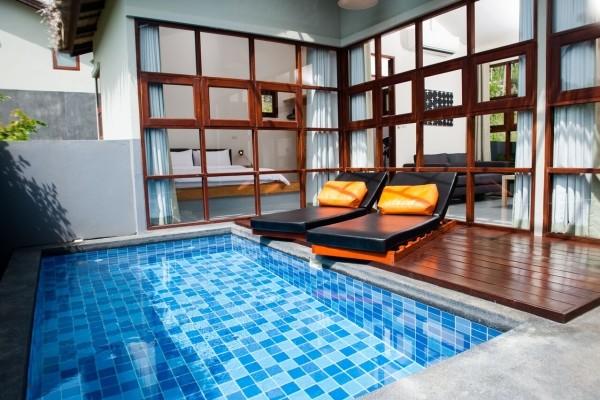 chambre - Baan Talay Pool Villa
