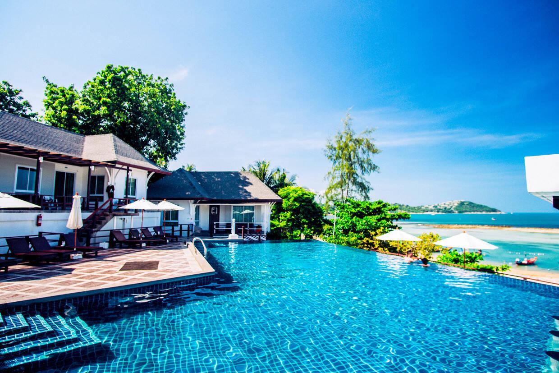 Piscine - Al's Laemson Resort 4* Koh Samui Thailande