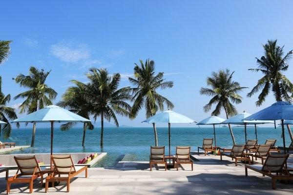 Piscine - Hôtel Celes Beachfront Resort 4* Koh Samui Thailande