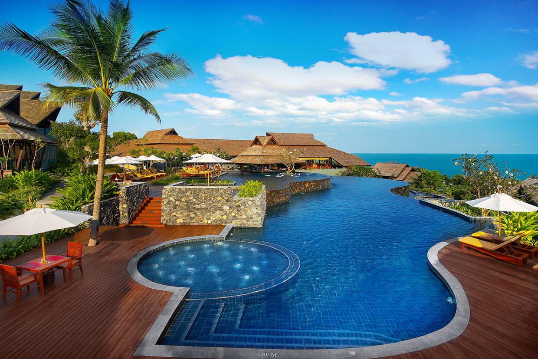 Piscine - Nora Buri Resort & Spa 5* Koh Samui Thailande
