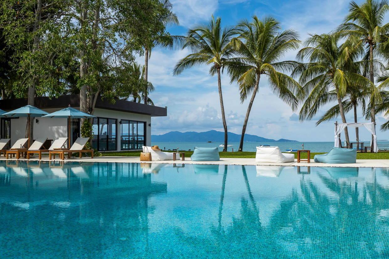 Piscine - Samui Palm Beach Resort 4* Koh Samui Thailande