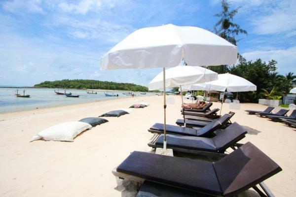 Plage - Hôtel Al's Laemson 4* Koh Samui Thailande