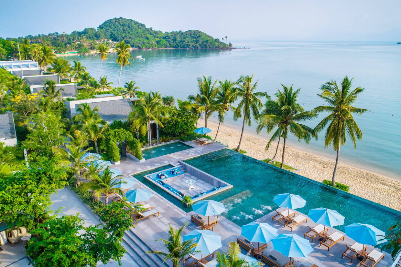 Vue panoramique - Celes Beachfront Koh Samui 4* Koh Samui Thailande