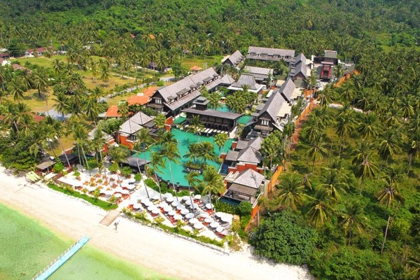 Vue panoramique - Mai Samui Beach Resort & Spa 5* Koh Samui Thailande