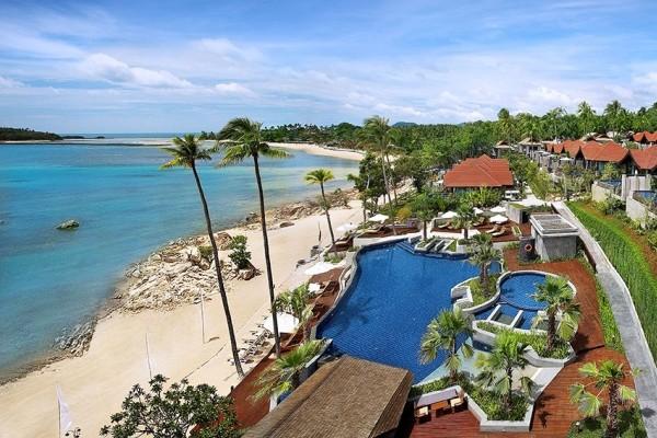 Vue panoramique - Nora Buri Resort & Spa 5* Koh Samui Thailande