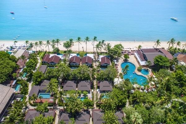 Vue panoramique - Hôtel Peace Resort Samui 4* Koh Samui Thailande
