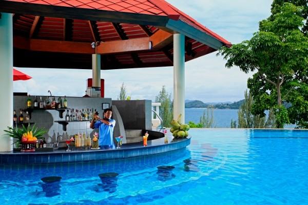 Bar - Hôtel Aquamarine Resort 4* Phuket Thailande